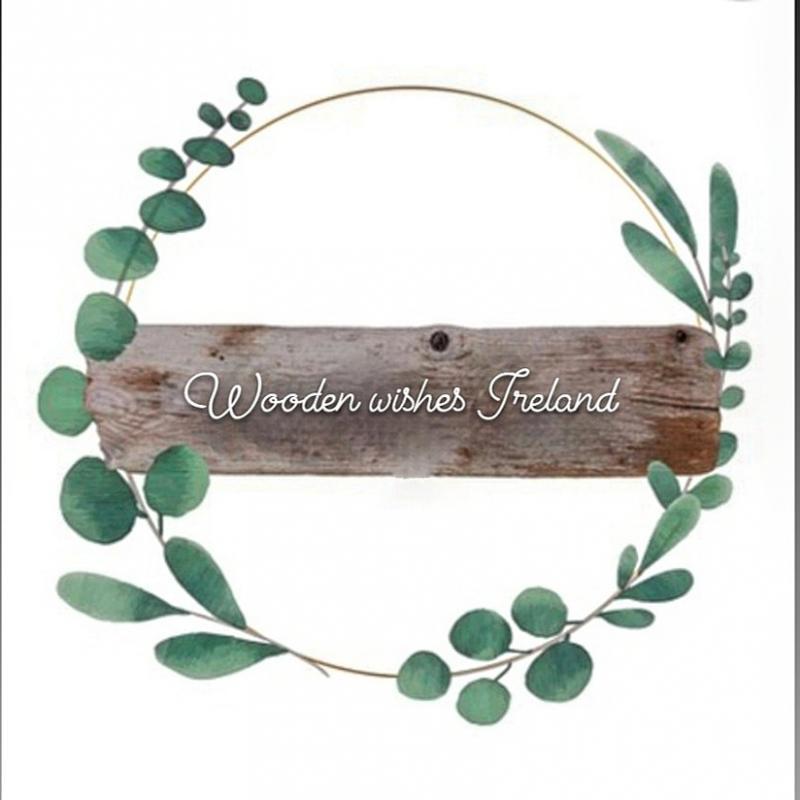 Wooden wishes Ireland